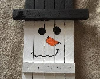 Tobacco stick snowman