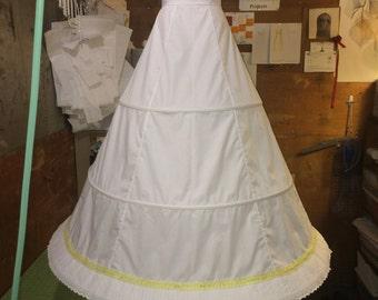 1860's Style Hoop Skirt