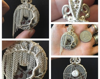 Sterling silver willow tree pendant ***SALE***