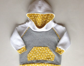 Raglan Sleeve Baby Hoodie