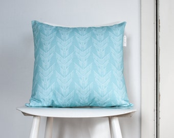 Pillow case - Falling Tree Turquoise