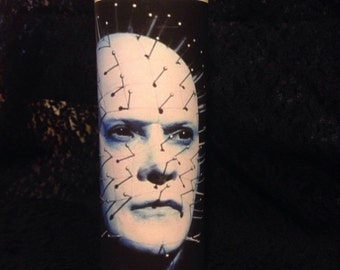 Pinhead 7 day candle white