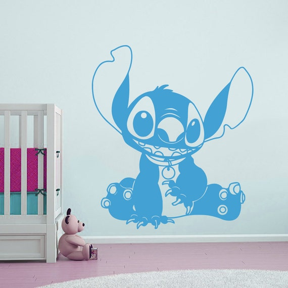 Wall Stitch Decal Baby Stitch Lilo And Stitch By