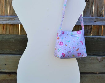Purple 'Isabella' Girls Bag, small bag, handmade bag, girls purse