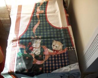 Ladies vest with kittens