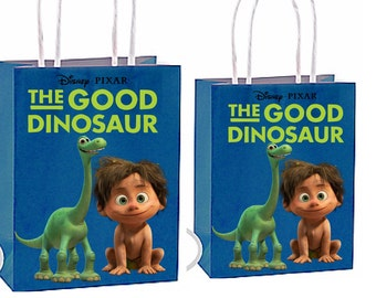 The good dinosaur Party Favor Bag Printable Instant Download