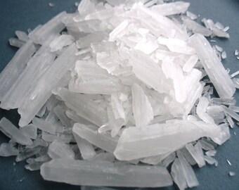 Menthol Crystals - GMO Free - Premium Menthol Crystals
