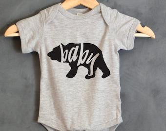 Baby Bear Bodysuit, Baby Bear Shirt, Baby shower gift, First birthday, Mama Bear, Papa Bear, Baby gifts, Baby Bear shirt, Baby Outfits