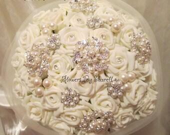 Wedding Flowers Brooch Bouquet