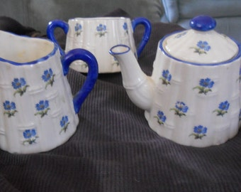 Cute Vintage Czech 3pc.Tea Set