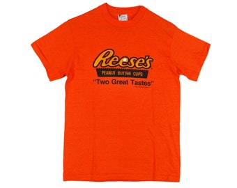 80's Vintage REESES Peanut Butter Cup SOFT THIN Men's T Shirt Small
