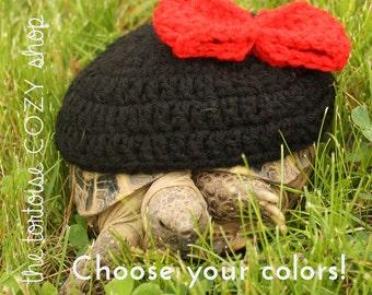 Hair Bow Tortoise Cozy
