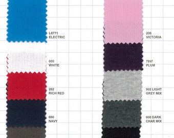 Cotton rib knit fabric, SOLD BY 5 YARDS,  fabric shop, ec2044