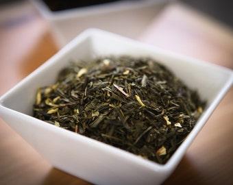Niagara Peach Flavored Green Tea. 80 grams