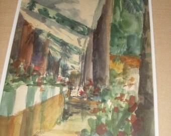 Josephine Trotter Watercolor