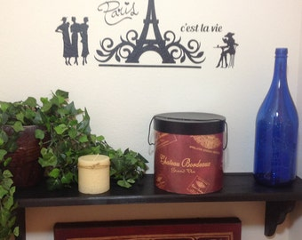 Paris Wall Decal - That's Life!