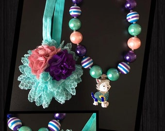 Paw Patrol Headband and Necklace