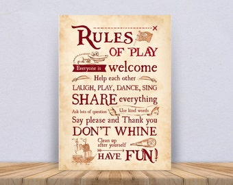 Print Rules of Play Pirate – 3