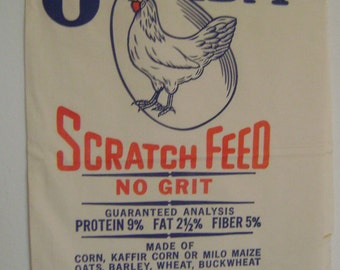 OneidaScratch Feed Muslin Sack