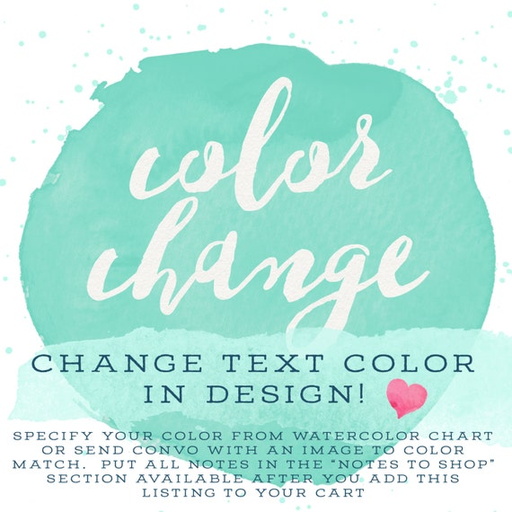 Change My Text Color!