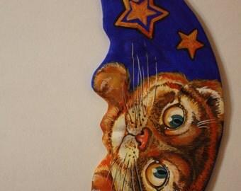 MOON porcelain CAT