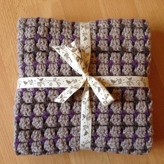 Modern Crochet Patterns For Baby Blankets : PDF Pattern Nola Modern Crochet Baby Blanket