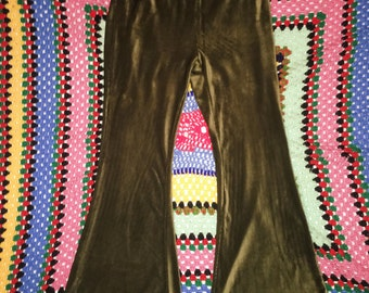 Olive Green Bell Bottoms