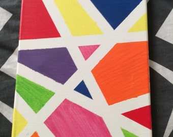 Geometric Canvas Paintings