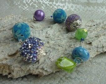 Handmade stunning beaded bracelet