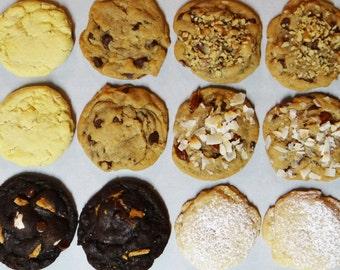 Vegan Cookies - Variety Pack (Have It ALL Box- 6 or 12 cookies )