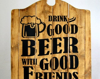 Man Cave Beer Sign - Buy One - Get One - Free (Final Day Today)