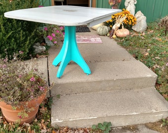 Vintage Style Drop Leaf Kitchen Table- Local Pickup Or Delivery Only