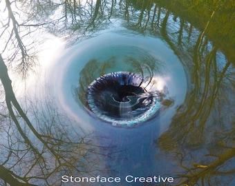 Stoneface Creative Original Canvas Small 'Flow'