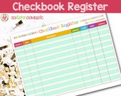 Checkbook Register Printa...