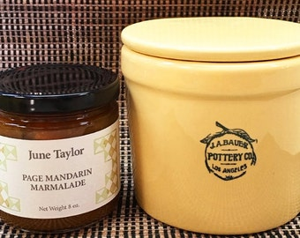 June Taylor Marmalade & Bauer Pottery Crock Set