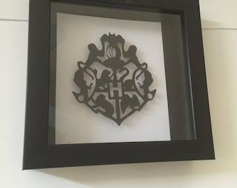 Hogwarts Emblem, Hogwarts 3D, Harry Potter, Hogwarts Cut Out
