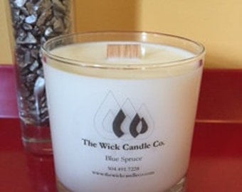 Peppermint and Eucalyptus - All Natural Soy Candle