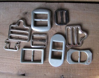 Vintage Buckles and Such Mixed Media Supply