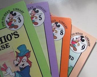 ONE Vintage Disney Fun To Read Library