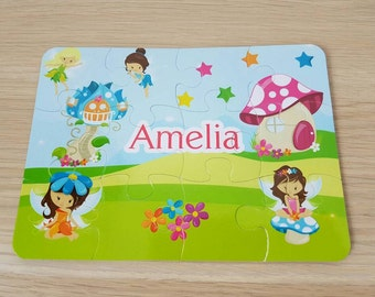 Kids Name Puzzle Etsy