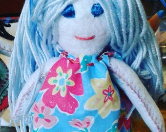 Handmade doll, avaliable only in order