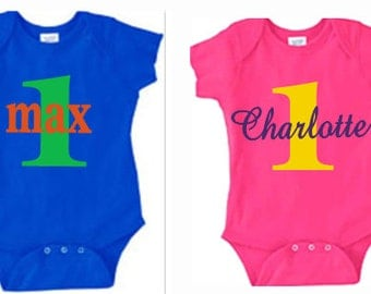 Birthday Onesies, Birthday Shirts, Kids Birthday Shirts and Onesies