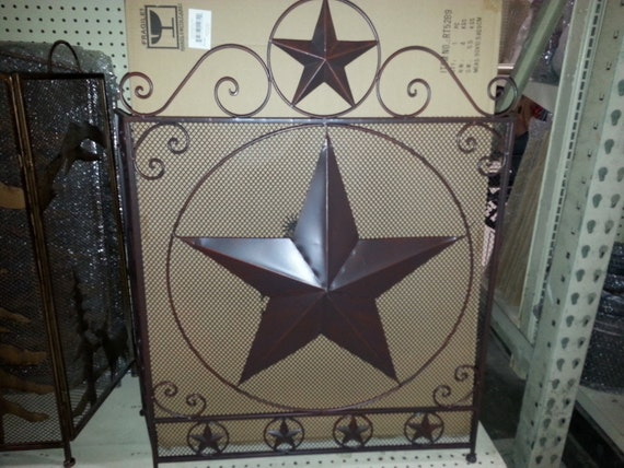 Lone star fireplace decor metal wall art home decor brand new for Home decor brands