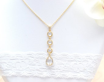 Collier married wena in Crystal-jewelry wedding accessories bridal-strap wedding