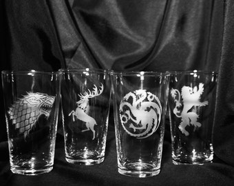 Game of Thrones Glass Set