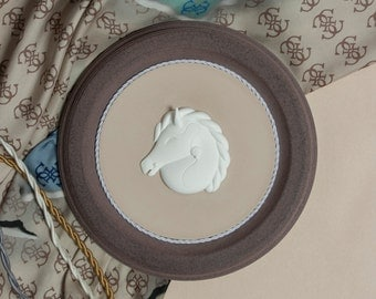 White Horse Bas Relief / Wall art decoration
