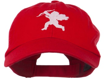 Valentine Cupid Embroidered Cap