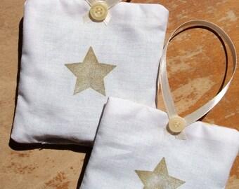 Lavender Sachets - Star Design