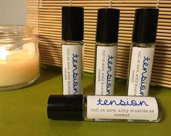 Essential Oil Tension Relief Roller ball Blend