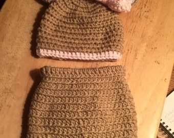 Deer infant outfit